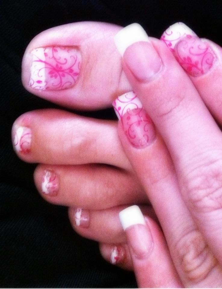Jamberry Nails over acrylic nails! Yes, Jamberry Nail Shields can go ...