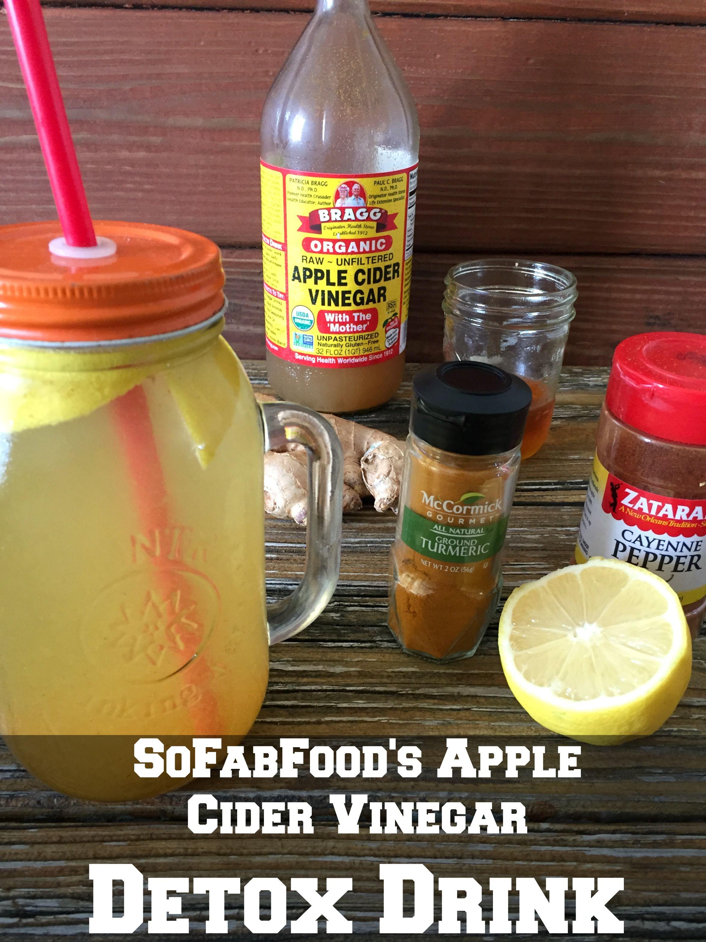 Apple cider vinegar and lemon detox drink recipe lemon detox apple cider vinegar and lemon detox drink malvernweather Image collections