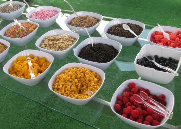 Exceptionnel Frozen Yogurt Toppings Bar Display | Fro Yo | Pinterest | Bar Displays,  Frozen Yogurt And Yogurt