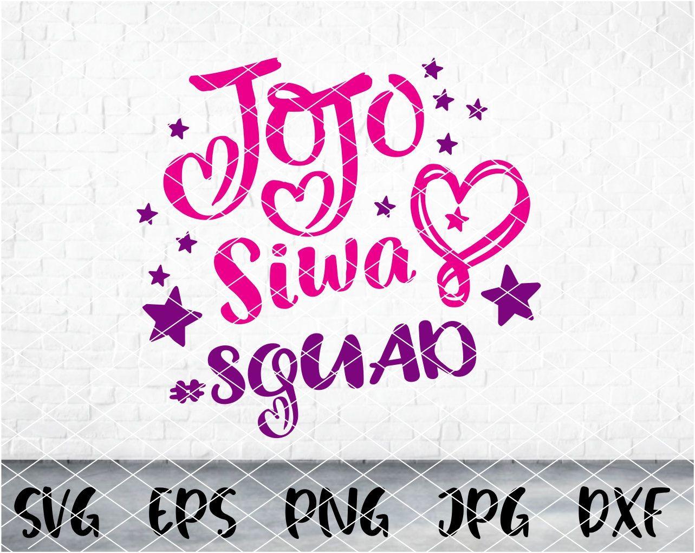 Jojo Siwa Squad Svg Jojo Siwa Logo Svg Jojo Siwa Svg Jojo Siwa Shirt Svg Jojo Siwa Vector Jojo Siwa Shirts Baby Girl Svg Shirts For Girls