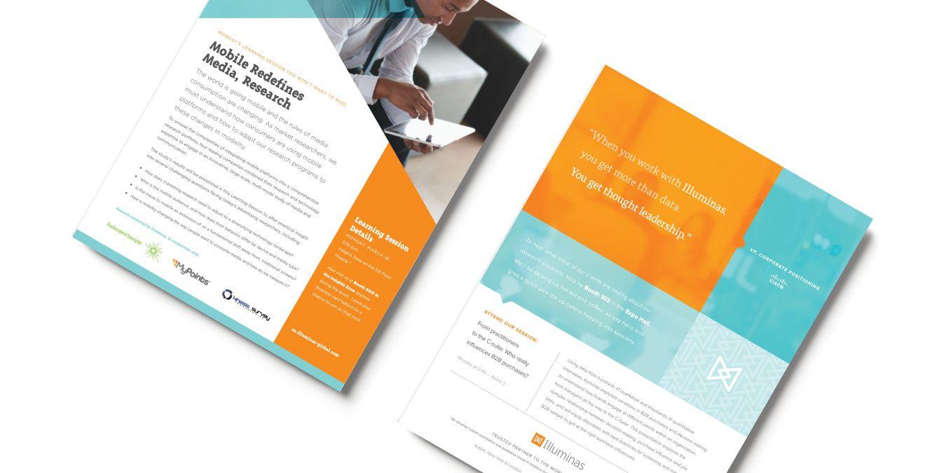 Marketing Brochure Design For Illuminas A Market Research