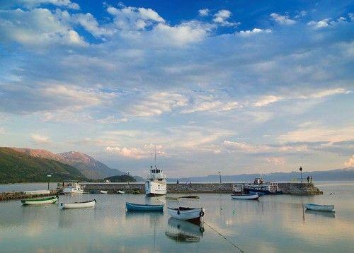 Lake Ohrid, Macedonia, Albania