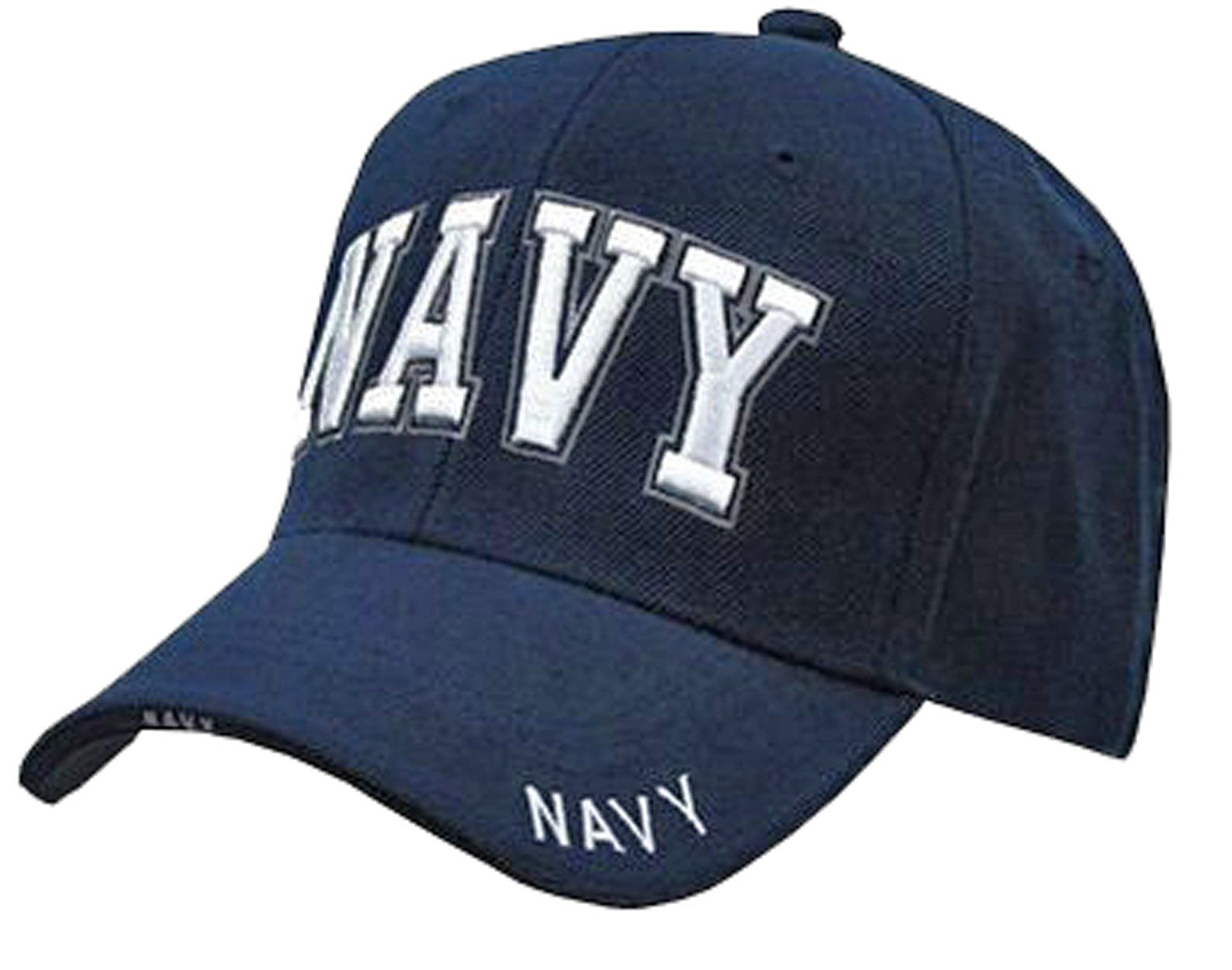 a081fef4c1f2c NAVY Baseball Cap Blue US Military Hat for Men Women
