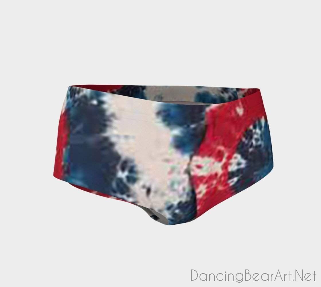 Tie Dye Mini Shorts