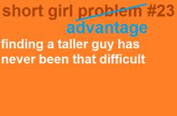 Short girl win