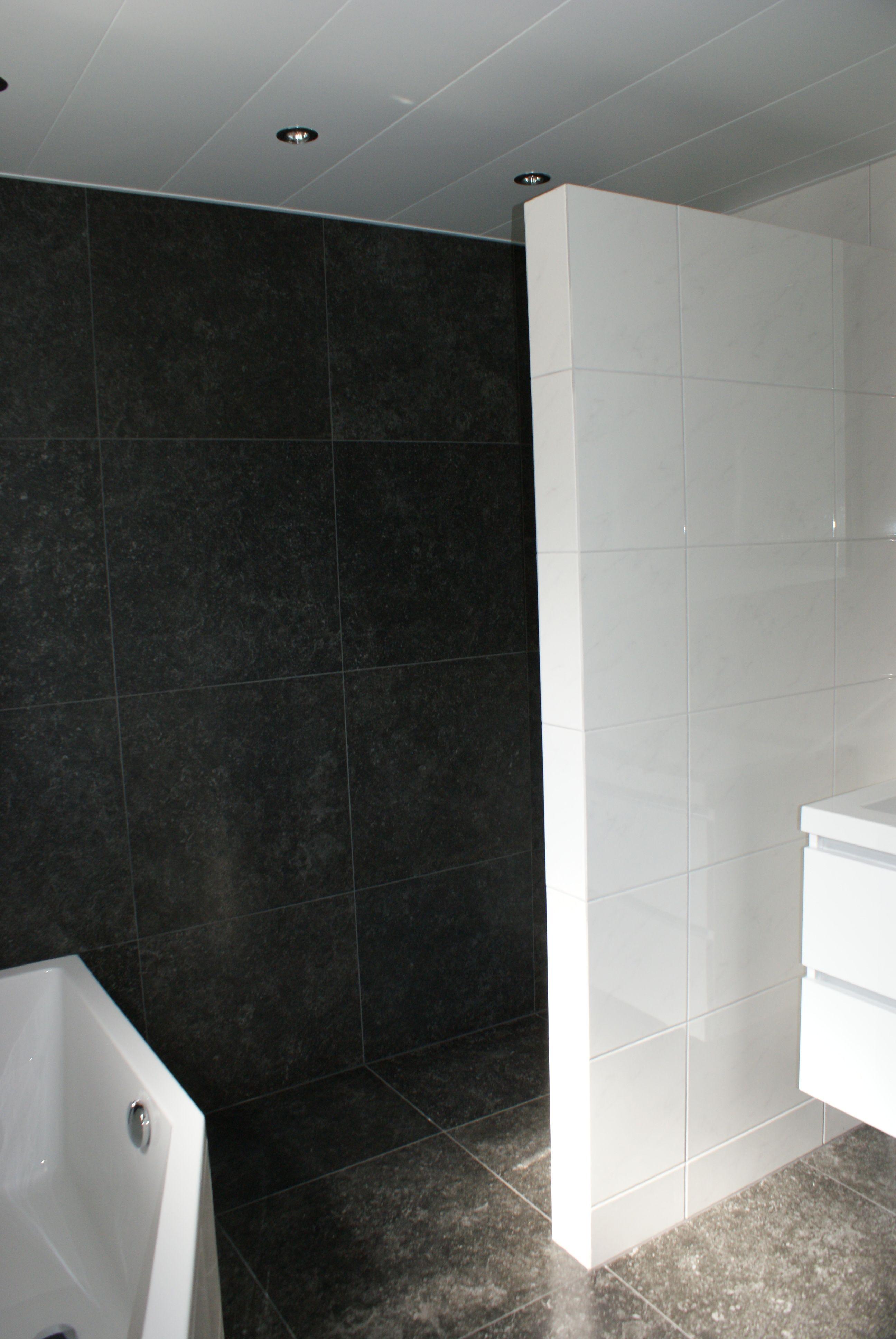 Welbie Sanitair) Kleine badkamer Nijmegen. Het ligbad (Society van ...