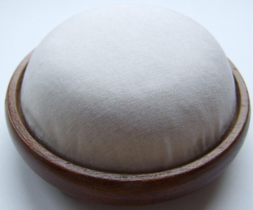 Mahogany wooden pincushion form LARGE size by lornabateman22