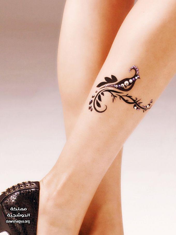 رسم حناء Tattoos Rhinestone Sticker Girly Tattoos