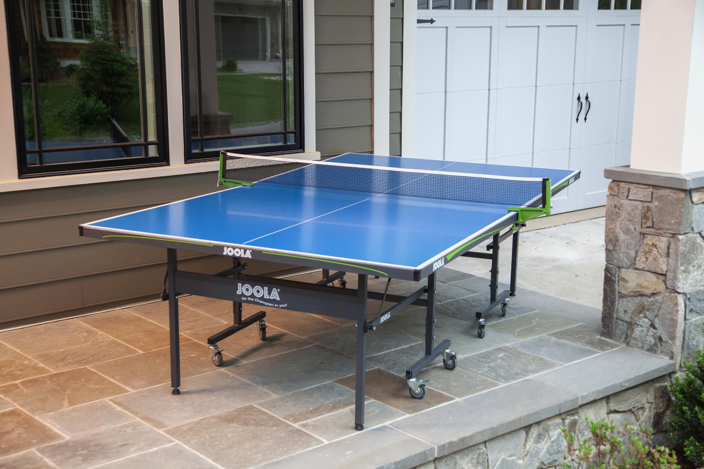 Outdoor Aluminum Table Tennis Table with Weatherproof Net Set