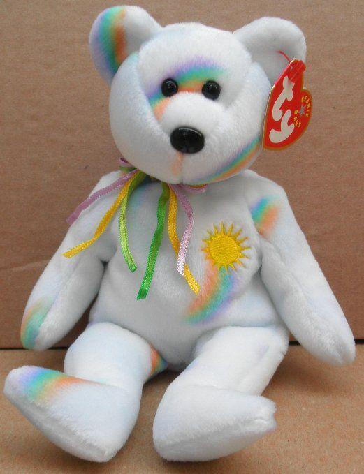 TY Beanie Babies Cheery the Bear Plush Toy Stuffed Animal $9.93 +4.99 mint