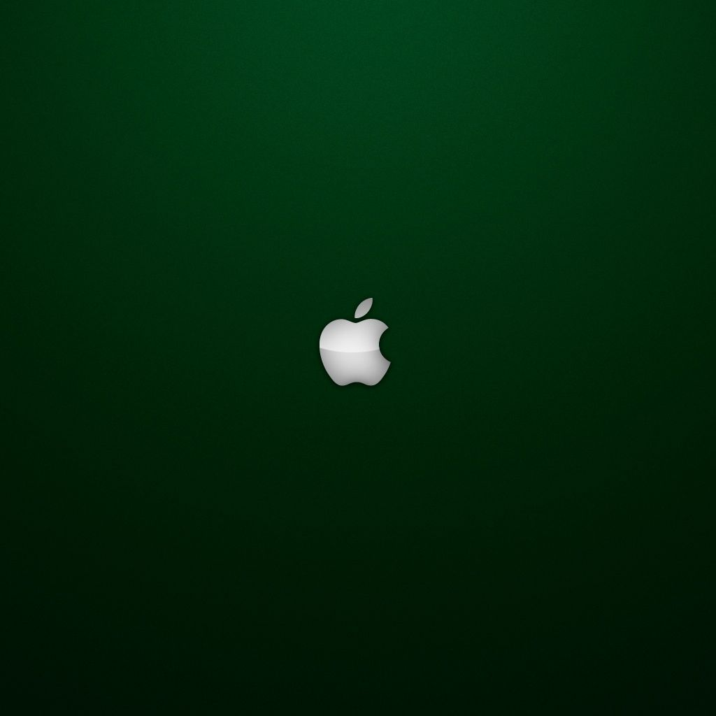 Aj88 Apple Logo Dark Simple Minimal