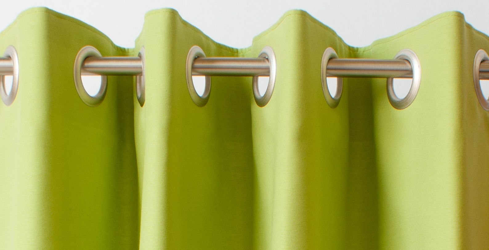 A decorative alternative for curtain poles eyelet