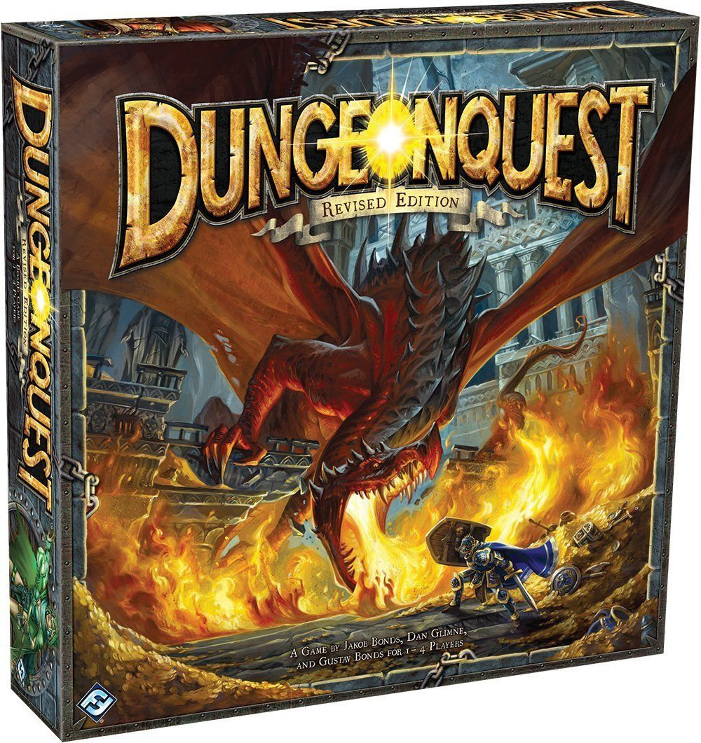 Dungeonquest Revised Edition Board Game: Fantasy Flight Games: Amazon.co.uk: Toys & Games