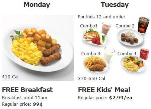 Ikea family weekly restaurant offers free breakfast on for Ikea free kids meal
