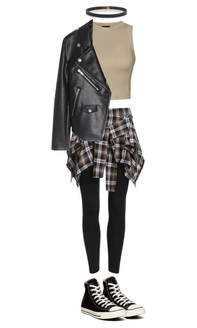 """""""BTS Run inspired outfit Part5/7"""" by alinamauh ❤ liked on Polyvore featuring мода, Ally Fashion, Converse и Wendy Nichol"""