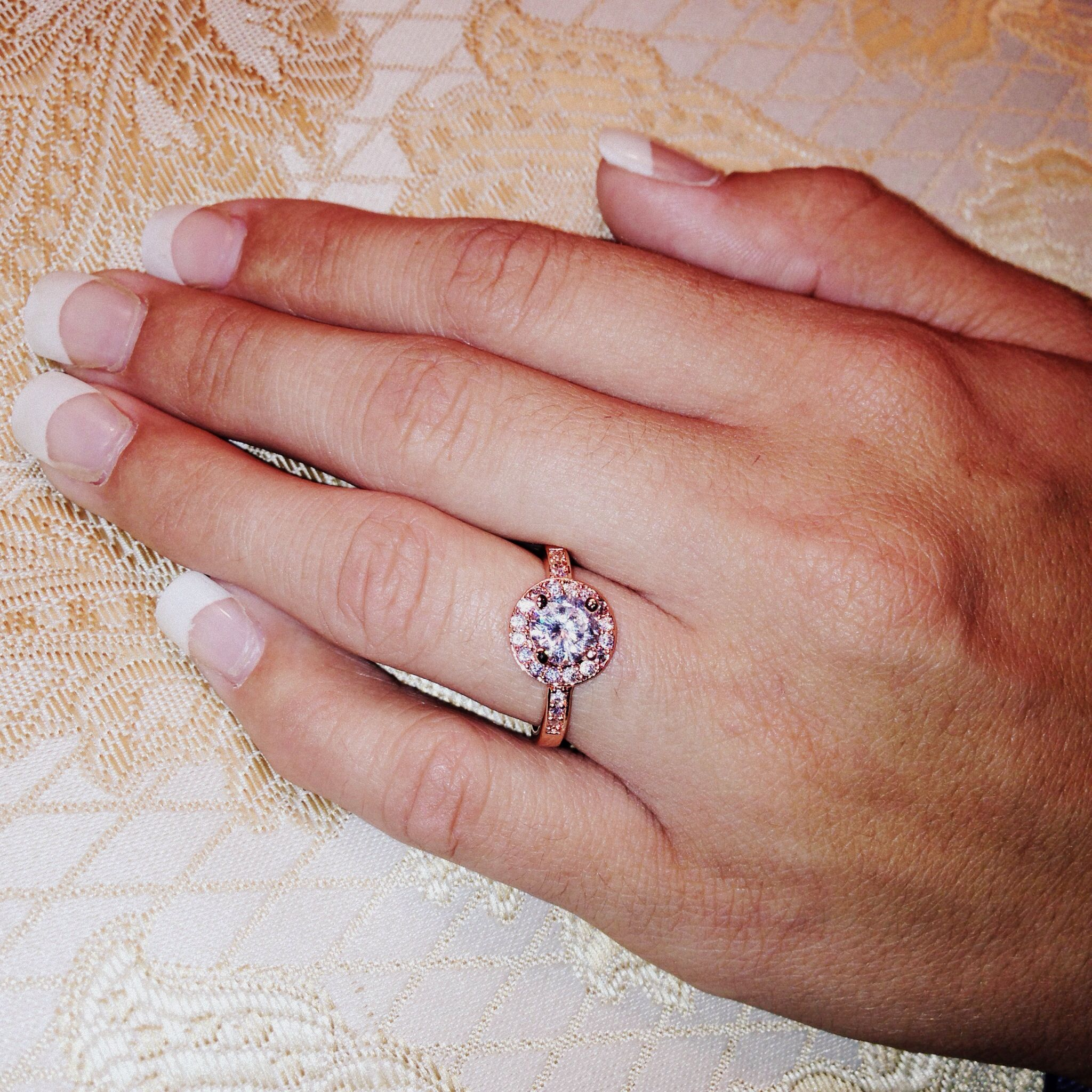 Rose Gold Promise Ring. LOVE. MY FAVORITE BY FAR!!! | rings and ...