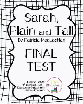 Pin on Sarah plain and tall