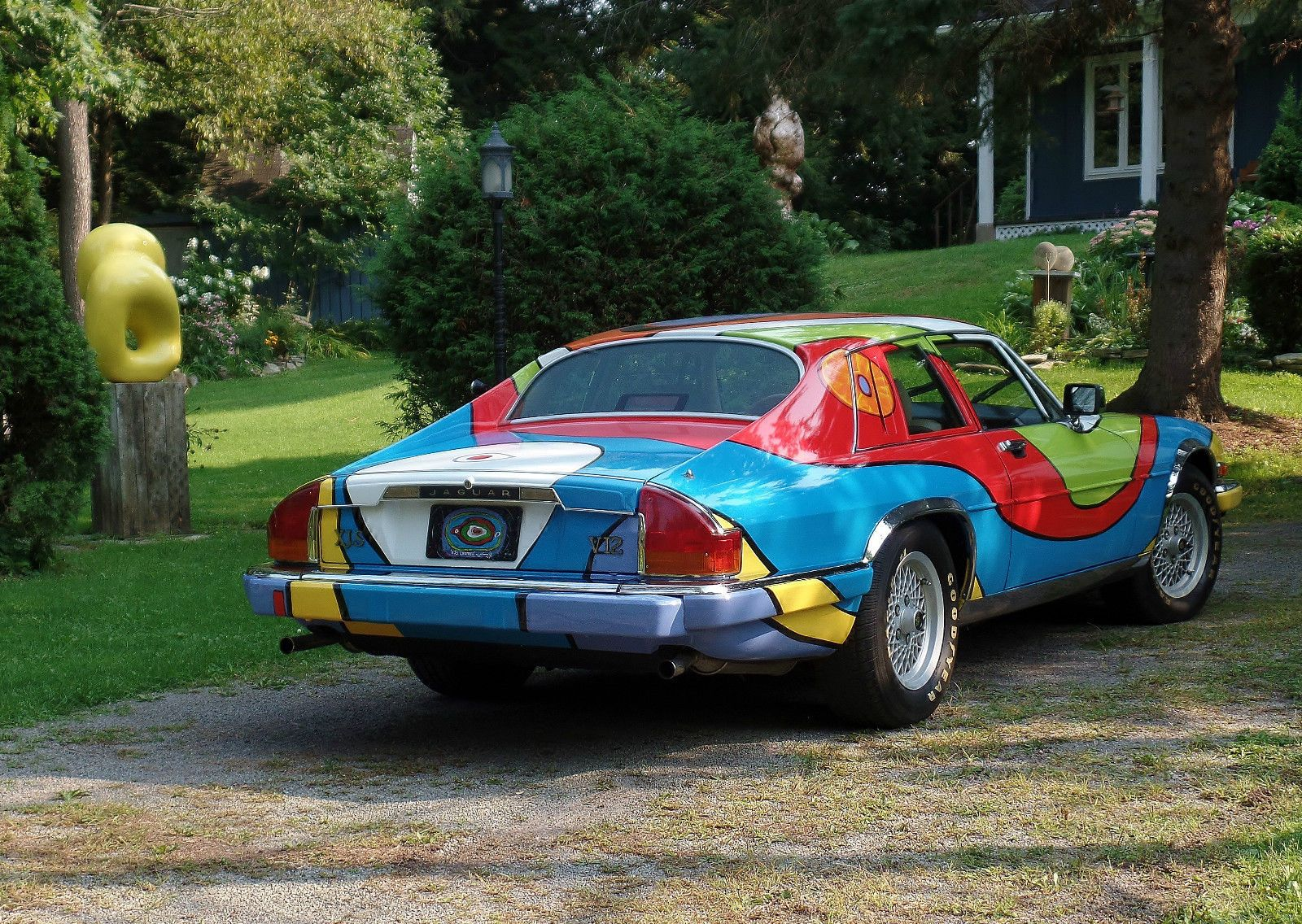 "'88 Jaguar XJS ""Life Tree"" Art Car"