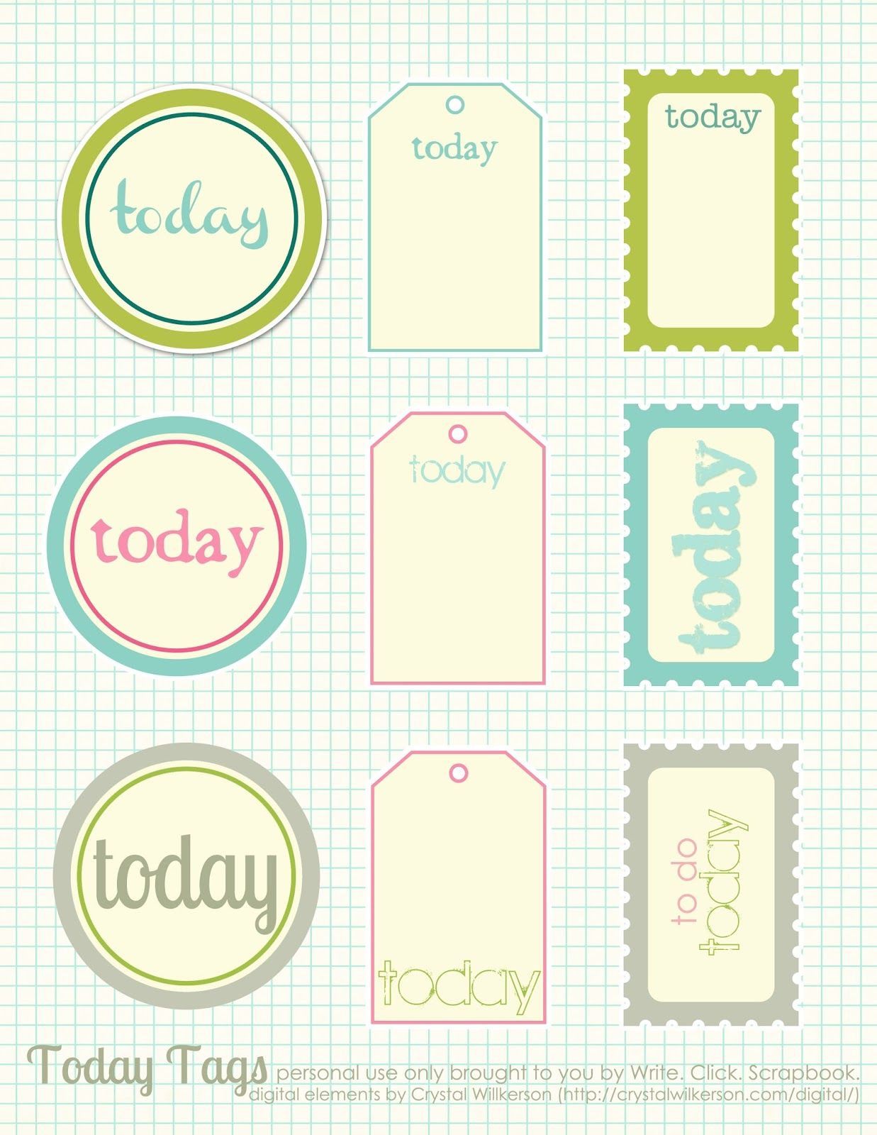 free printable scrapbook cutouts | printable for all topics