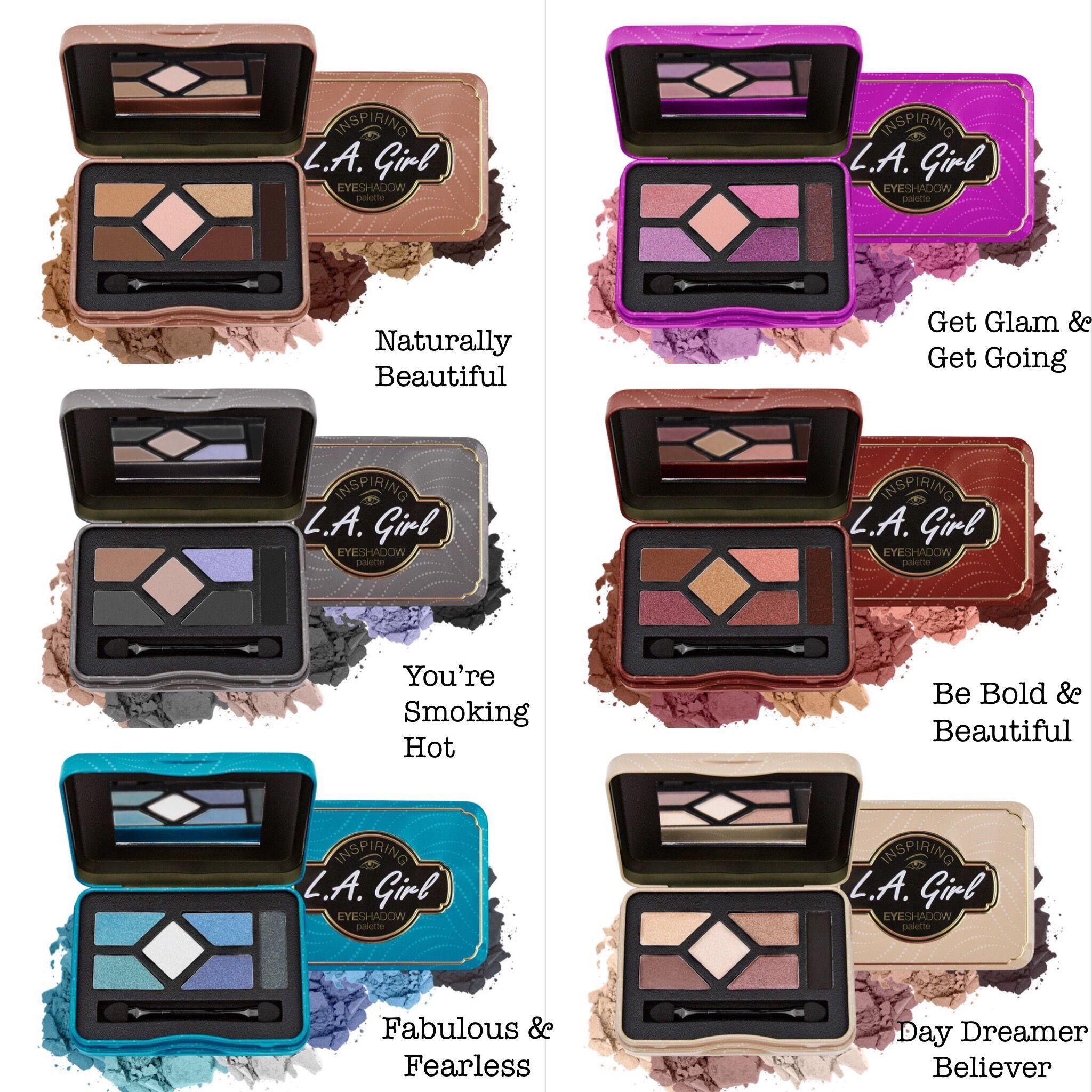 LA GIRL Inspiring Eyeshadow Palette