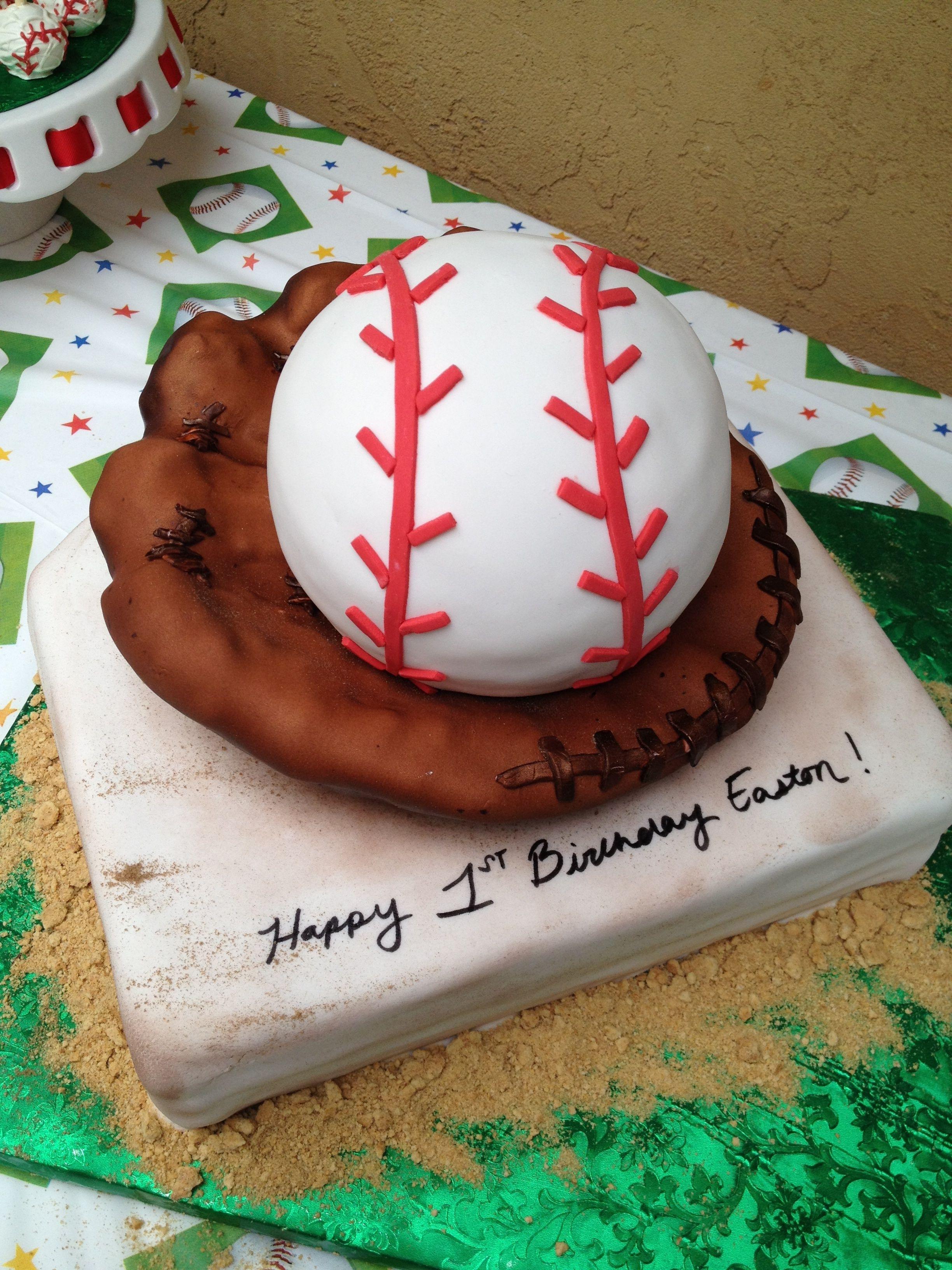 Marvelous Baseball Themed Birthday Cake By Sweet Revenge With Images Funny Birthday Cards Online Necthendildamsfinfo