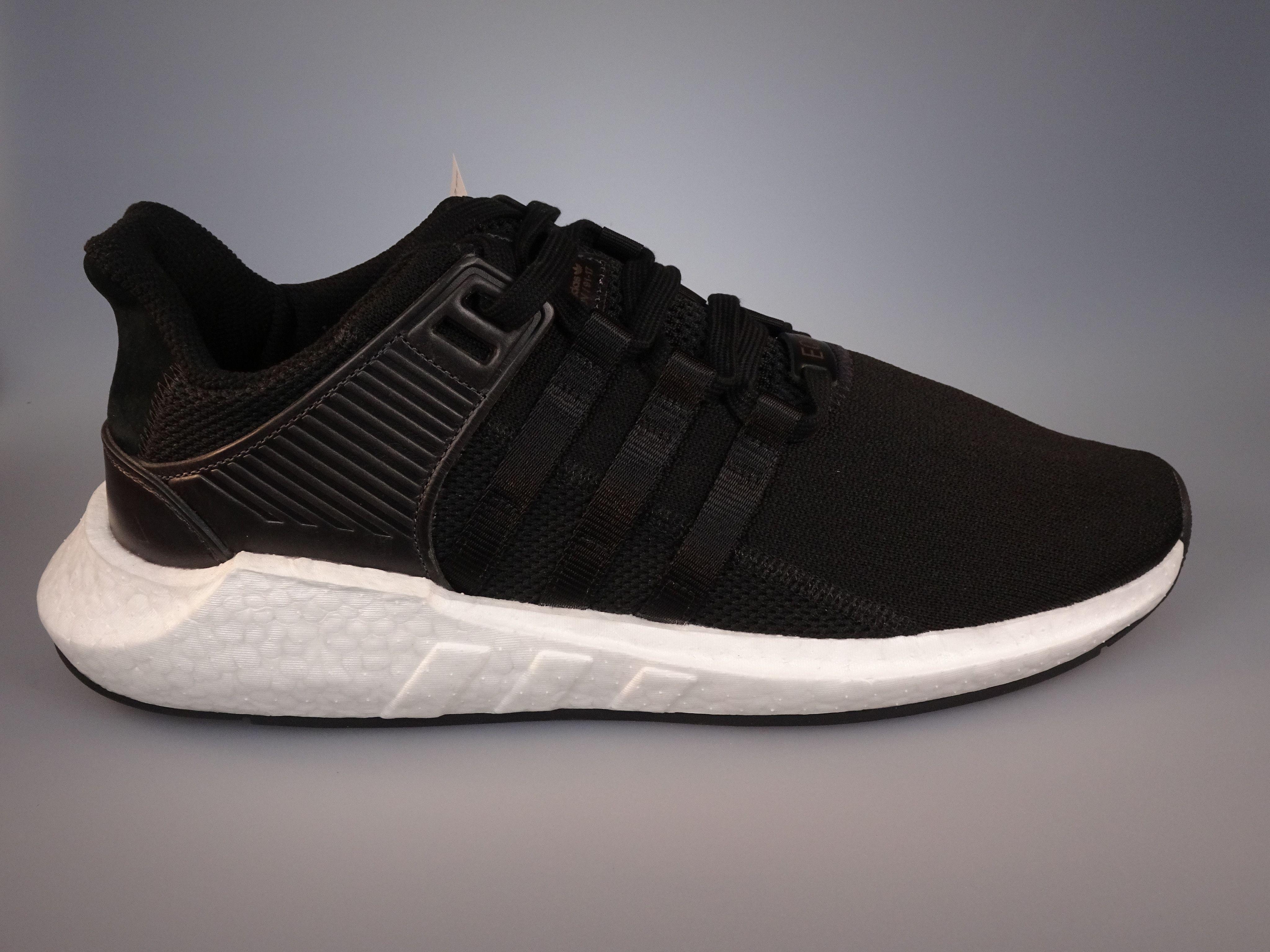 2df14b5ed4ba3 Adidas EQT Support 93 17 Milled Leather Black Size 11.5 (BB1236)  EQT   adidas  adidaseqt  BB1236