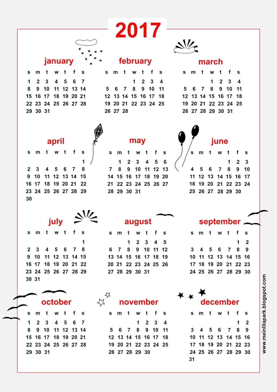 Free Printable  Calendar  Din A And Din A  Clipboards And