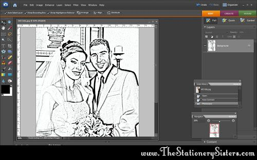 Easy Photoshop Coloring Book Tutorial She Dalia Easy Photoshop Easy Photoshop Tutorials Coloring Books