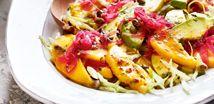 Mango-Avocado Salad with Coriander Dressing