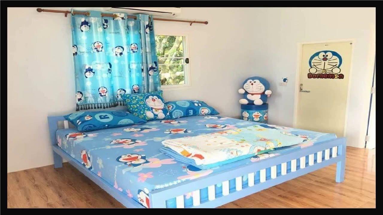 Desain Dekorasi Kamar Tidur Doraemon In 2020 Home Decor Bed