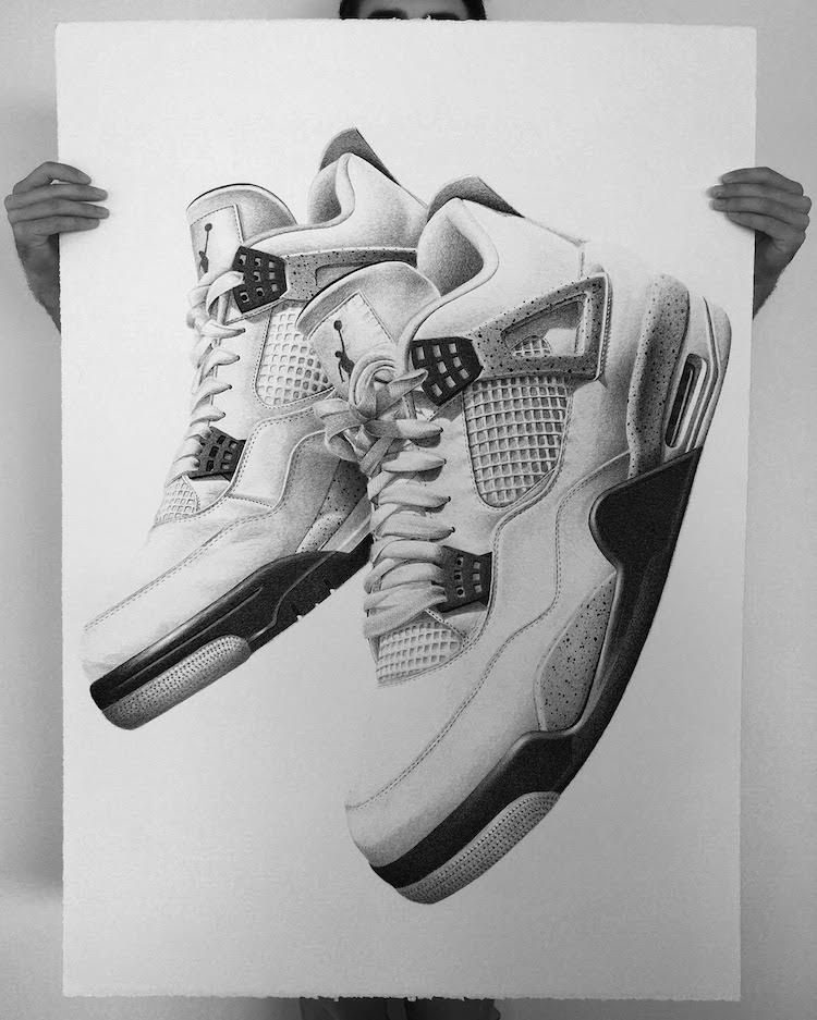 Drawing Jordans : drawing, jordans, Sneaker, Jordan, Drawings, Jeremy, Kicks, Sneakers, Drawing,, Sketch