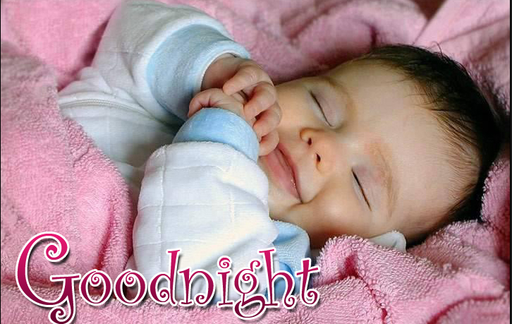 Good Night Beautiful Baby Images Good Night Cute Baby Sleeping