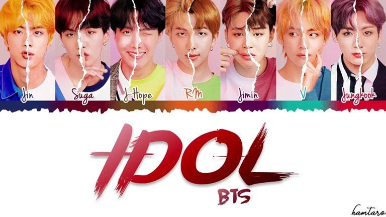 Bts Idol Official Mv Roblox Album Bts Bts Lyric Bts