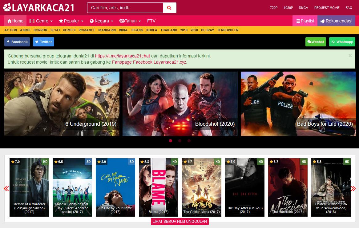 Nonton Film Streaming Movie Layarkaca21 Lk 21 Dunia 21 Bioskop Cinema 21 Box Office Subtitle Indonesia Gratis Online Download Layarkaca21 Bioskop Komedi Film