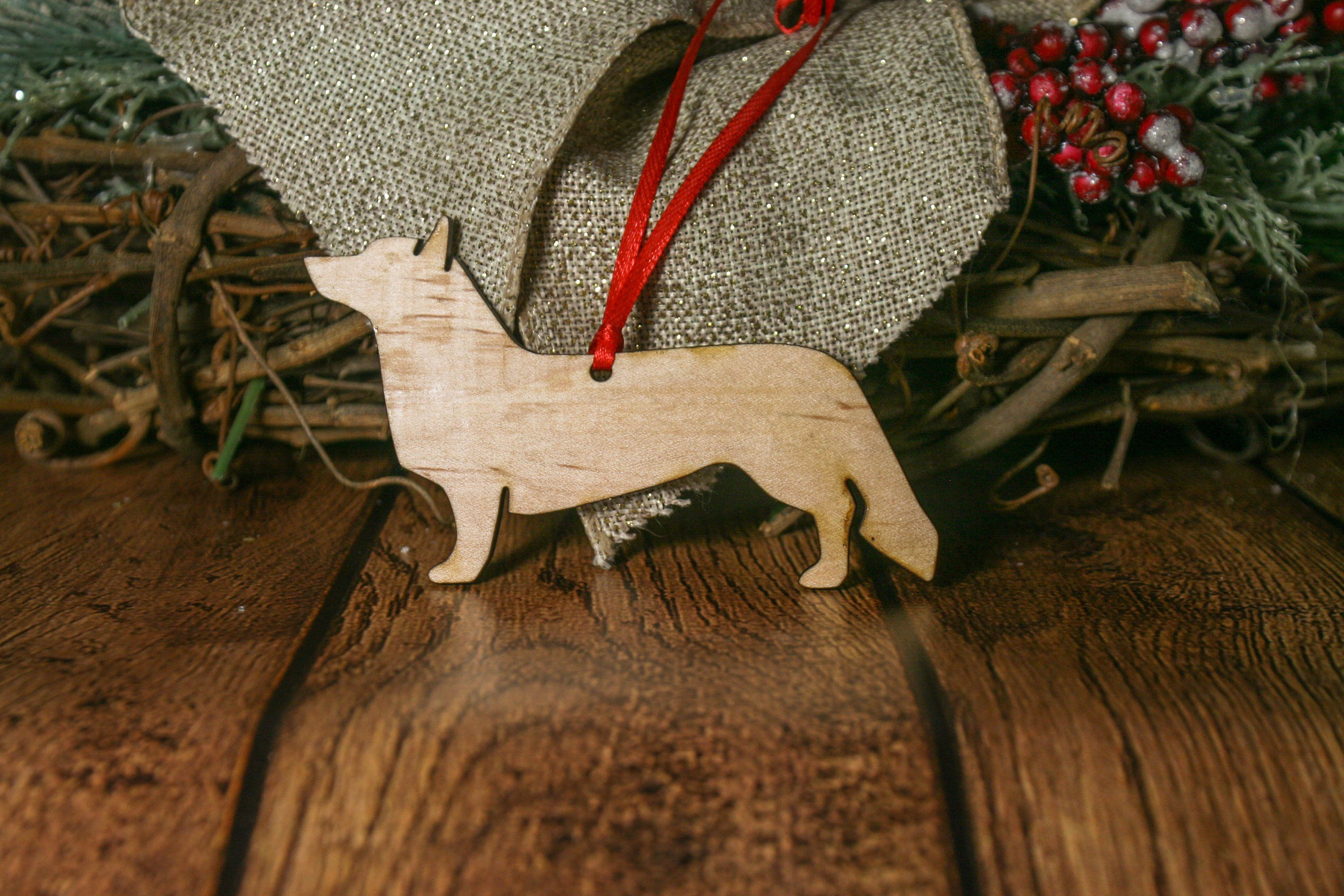 Cardigan Welsh Corgi Dog Ornament Free Shipping 17 99 Uniquely Crafted With Virginia Black Personalized Dog Ornament Custom Dog Ornament Dog Ornaments