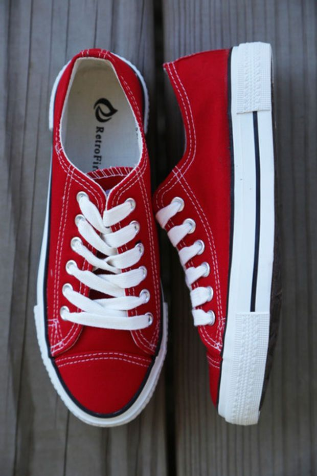 Go-To Sneaks {Red} – The Rage