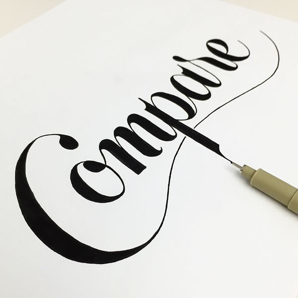 Lettering and Illustration Pt. 3 on Behance