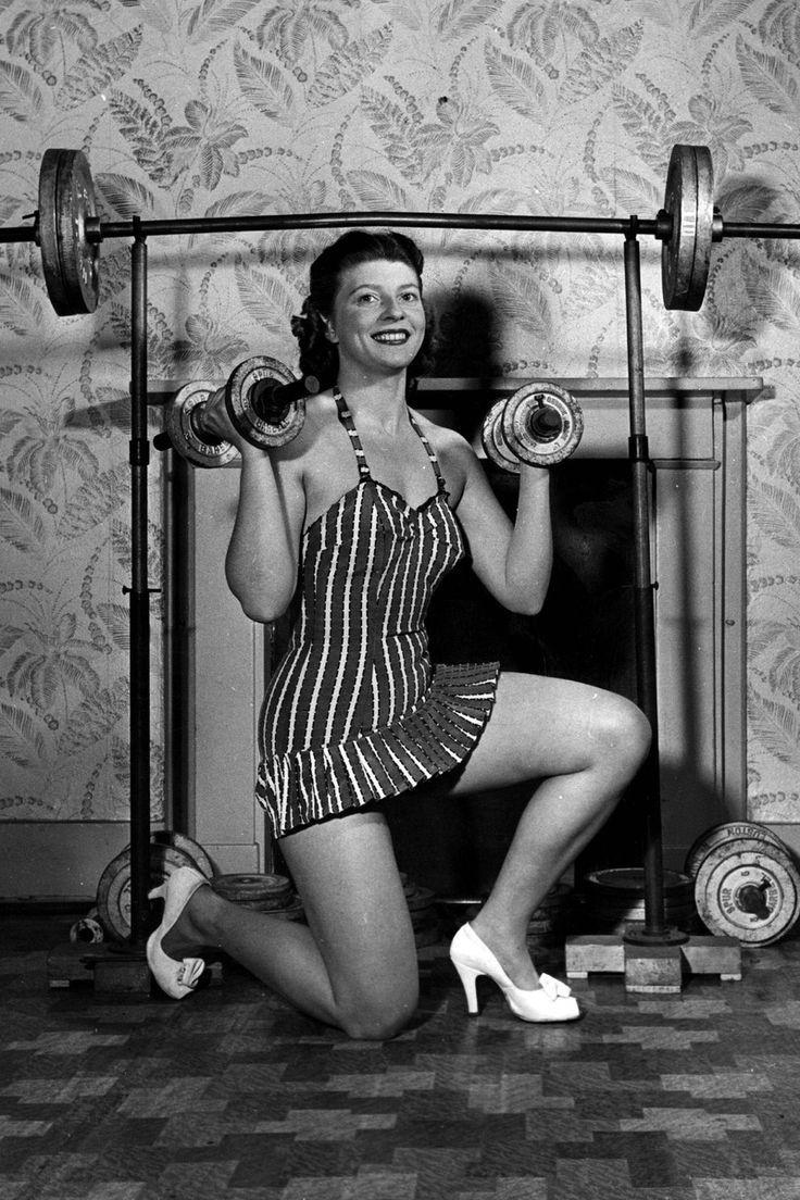 Image result for fitness vintage