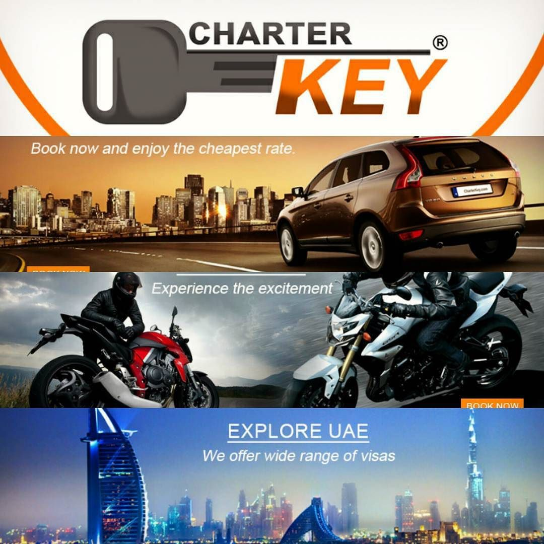 Charterkey Comacts As An Agent Dedicated To Servicing Our Customers Arranging Your Booking With The Car Hire Companies Hotel Reservation Visa Applica Dubai