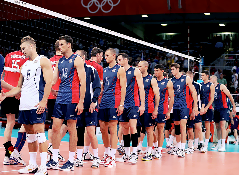 Usa Men S Volleyball Team Mens Volleyball Usa Volleyball Volleyball Uniforms