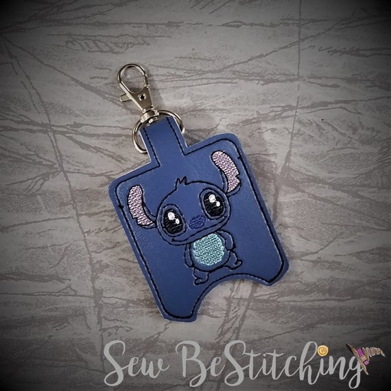 Stitch Hand Sanitizer Holder Lilo Hand Sanitizer Holder Hand