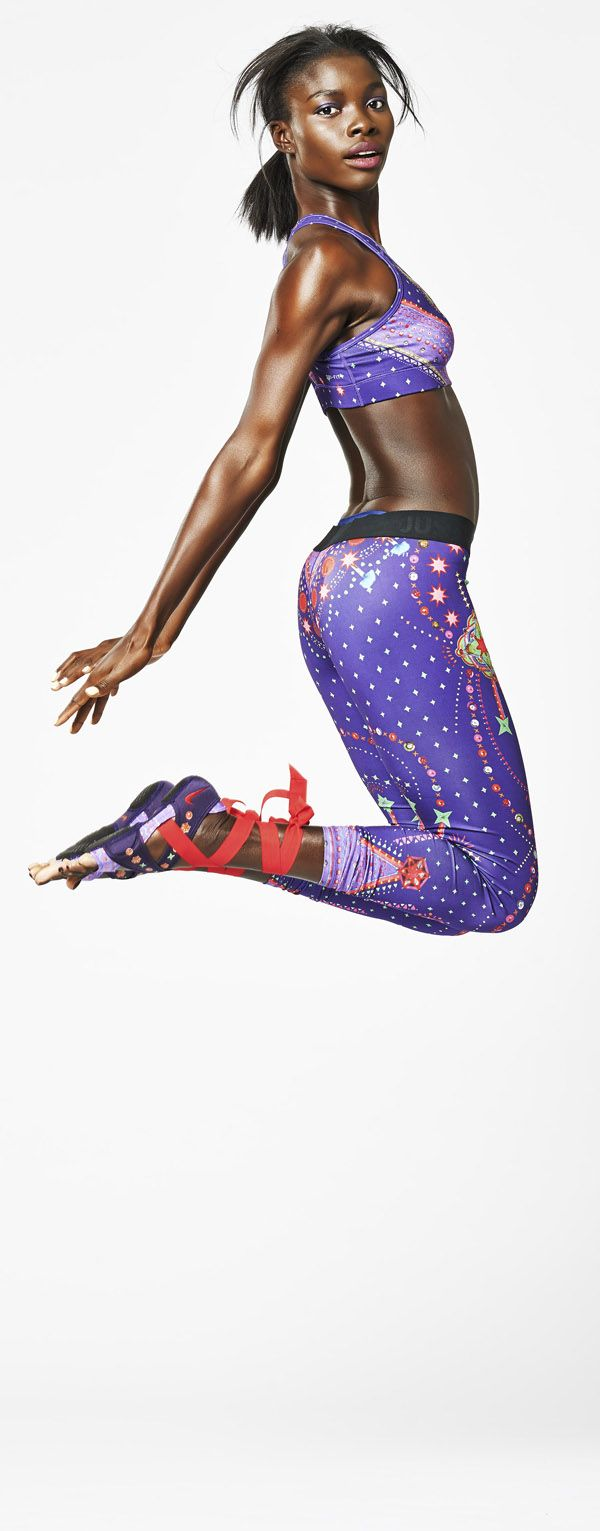 6a1ba85587 Jump start your training style. Limited Edition Tights by Nike Pro | House  of Beccaria~