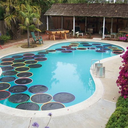 if you have a swimming pool, you will find this idea for a way to