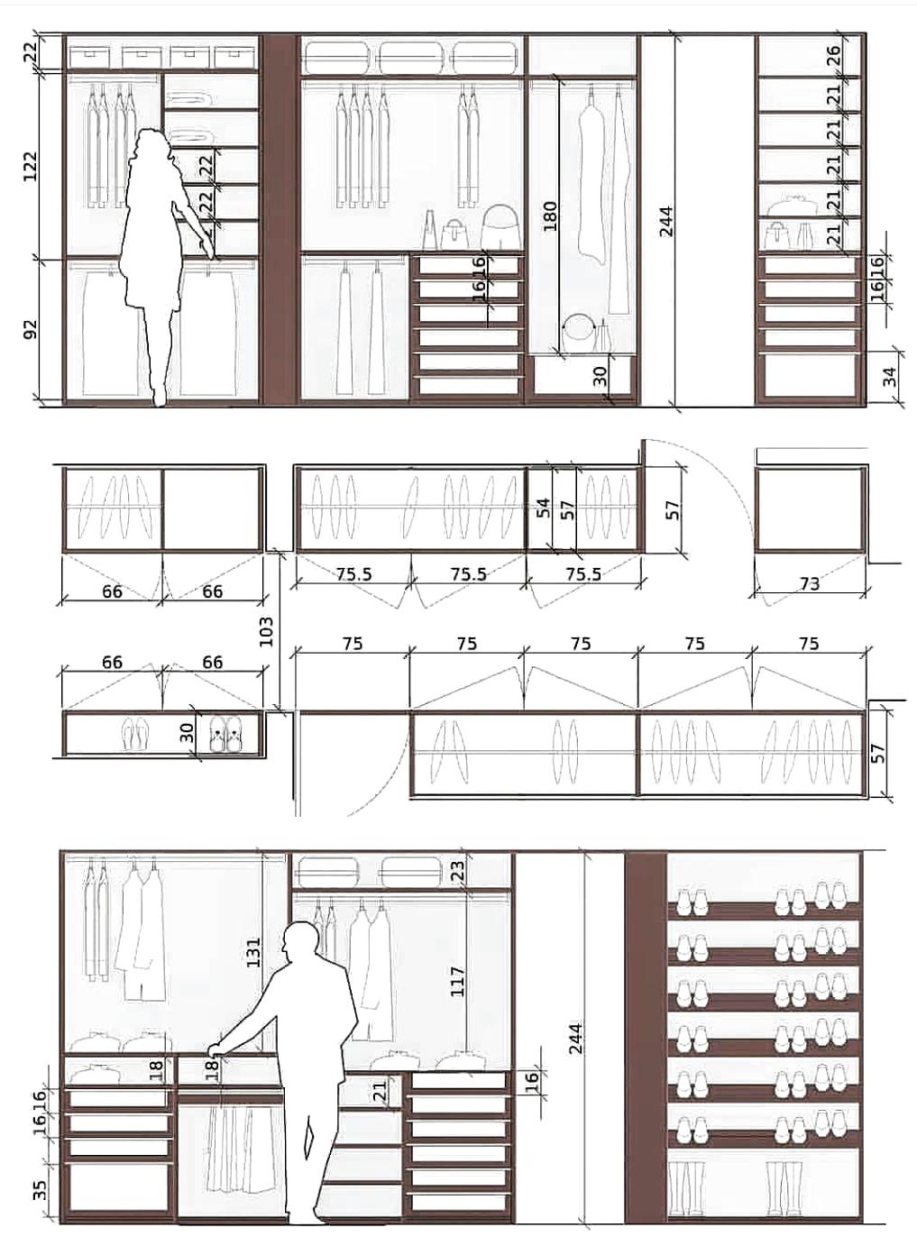 Gardirop Plan Ve Gorusunusu Kleiderschrank Design Ankleidezimmer Design Schlafzimmerrenovierung
