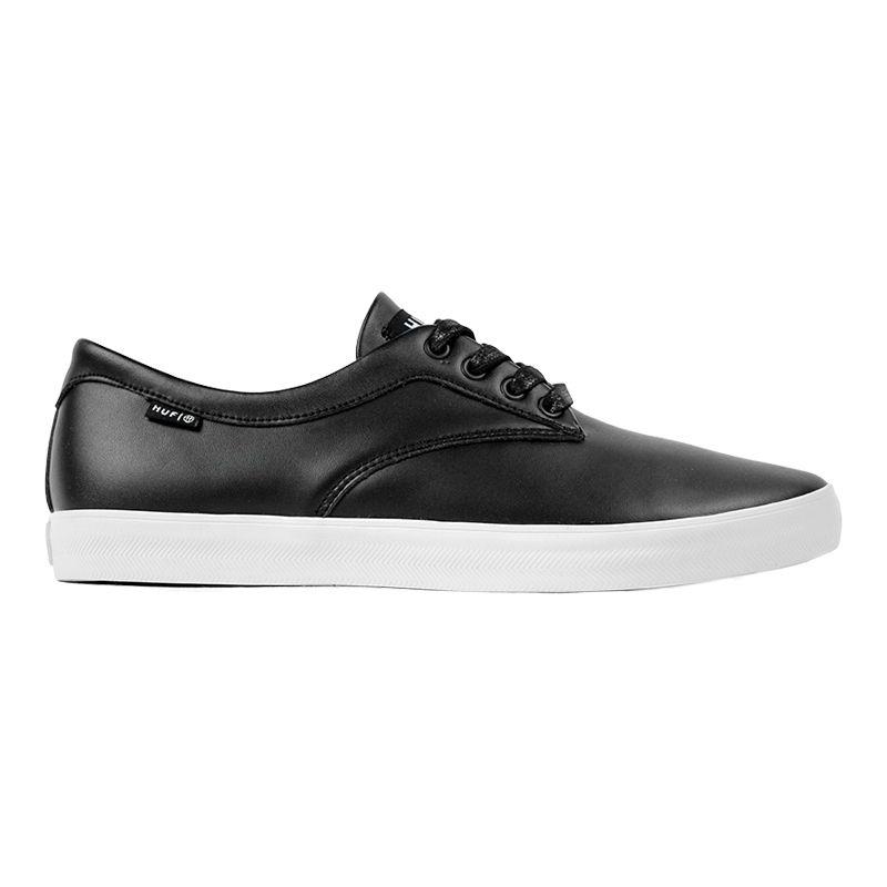 083d55a91865 HUF Sutter Shoes Black Premium Leather