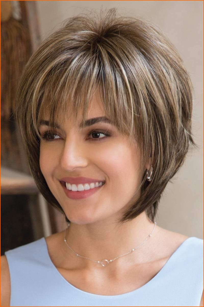Thin Hair Short Layered Hairstyles Thick Hair Look For Women 2018  No Bad Hair Days in 2019