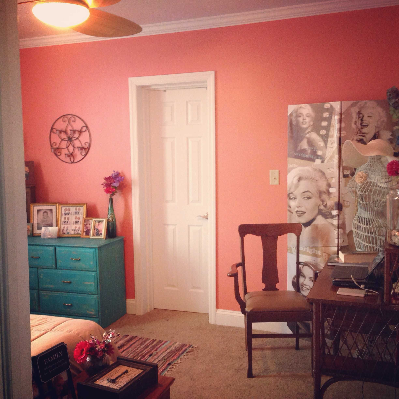 Bon Best Coral Paint Color For Bedroom