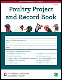 Poultry Project and Record Book from Ohio 4-H | Animal ...