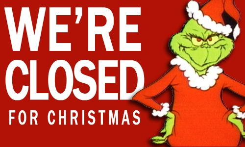 Abl Closed On Chirstmas Eve Amp Christmas Day Lincoln County Closed For Christmas Closed For Christmas Sign Holiday Signs
