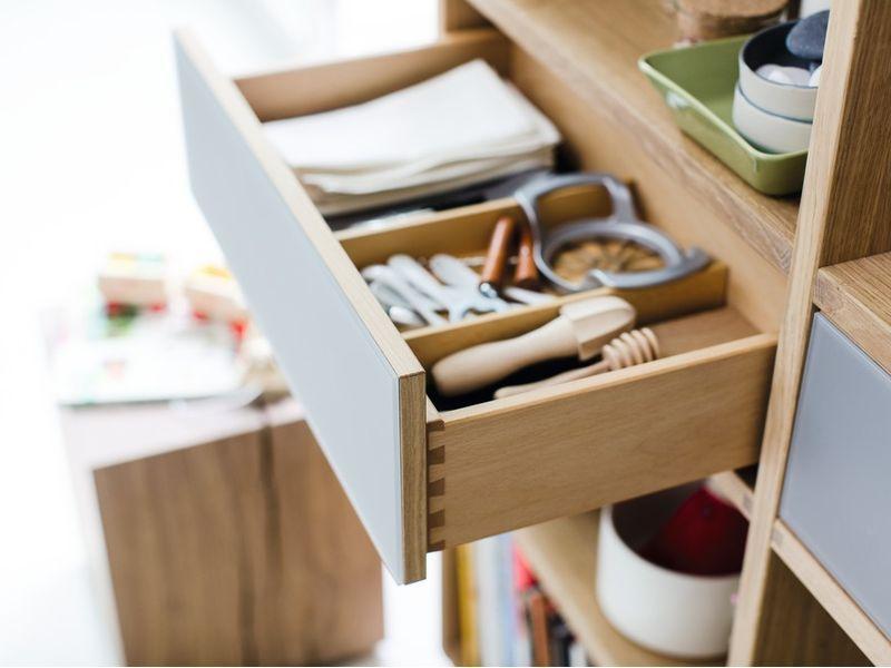 Küchenschrank Stauraum. Ordnung in der Küche. #küche ...